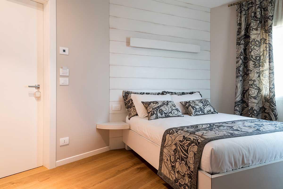 Camera laccata bianco
