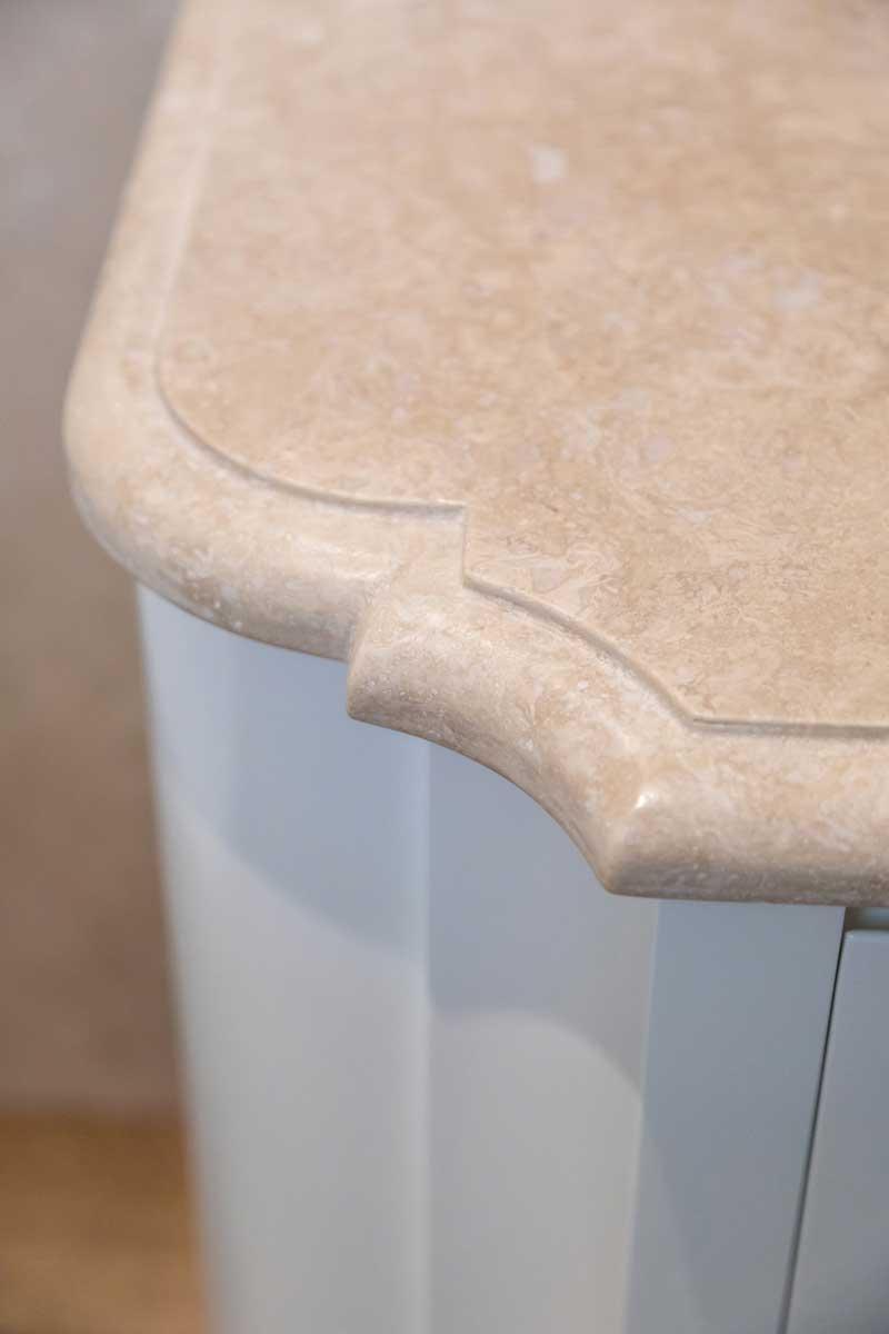 Bagno - Dettaglio piano marmo